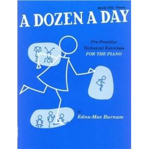 BURNAM EDNA MAE - A DOZEN A DAY VOL.1
