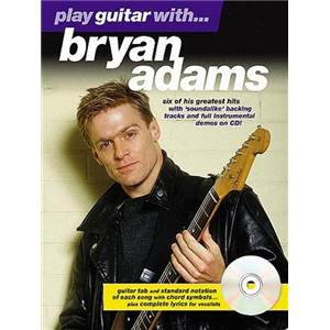 ADAMS BRYAN - PLAY GUITAR WITH + CD