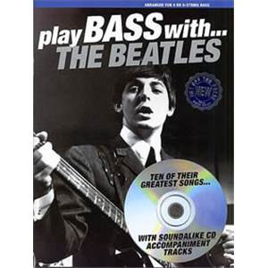 BEATLES THE - PLAY BASS WTH + CD