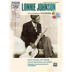 JOHNSON LONNIE - MASTERS COUNTRY GUITAR TAB. + CD