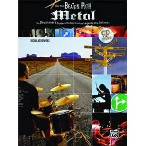 COMPILATION - ON THE BEATEN PATH METAL ANALYSE DES PLUS GRANDS BATTEURS DU STYLE + CD