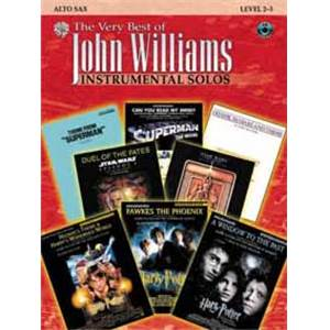 WILLIAMS JOHN - VERY BEST OF ALTO SAX + CD