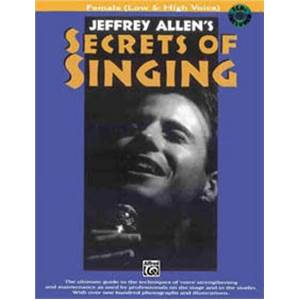 ALLENS JEFFREY - SECRETS OF SINGING FEMALE + CD
