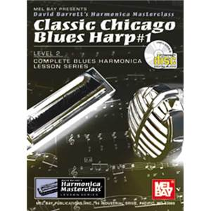 BARRETT DAVID - HARMONICA CLASSIC CHICAGO BLUES HARP VOL.1 + CD