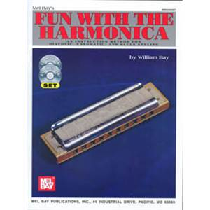 BAY WILLIAM - FUN WITH HARMONICA + DVD + CD