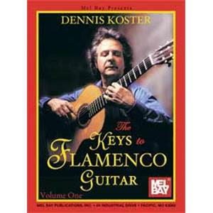 KOSTER DENNIS - KEYS TO FLAMENCO GUITAR TAB. + CD