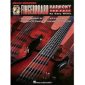 WILLIS GARY - BASS BUILDERS FINGERBOARD HARMONY FOR BASS + CD