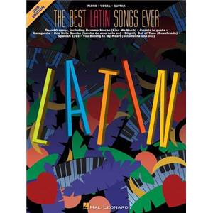 COMPILATION - THE BEST OF LATIN SONGS EVER P/V/G