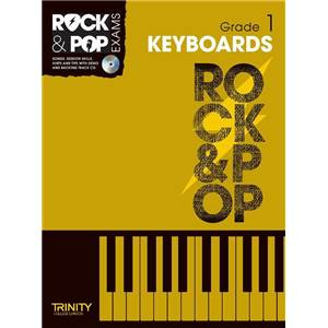 COMPILATION - TRINITY COLLEGE LONDON : ROCK & POP GRADE 1 FOR KEYBOARD + CD