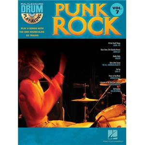 COMPILATION - DRUM PLAY ALONG PUNK ROCK VOL.7 + CD