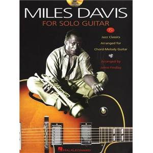 DAVIS MILES - MILES DAVIS FOR SOLO GUITAR + CD