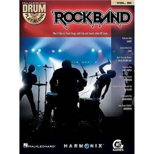 COMPILATION - DRUM PLAY ALONG ROCK BAND CLASSIC ROCK EDITION VOL.20 + CD