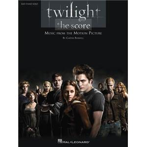 BURWELL CARTER - TWILIGHT THE SCORE EASY PIANO SOLO