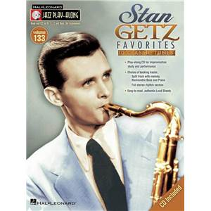 GETZ STAN - JAZZ PLAY ALONG VOL.133 FAVORITES + CD