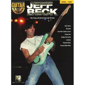 BECK JEFF - GUITAR PLAY ALONG VOL.125 + CD