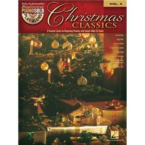 COMPILATION - BEGINNING PIANO SOLO PLAY ALONG VOL.005 CHRISTMAS CLASSICS + CD