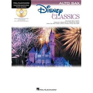 DISNEY - CLASSICS ALTO SAXOPHONE PLAY ALONG + CD