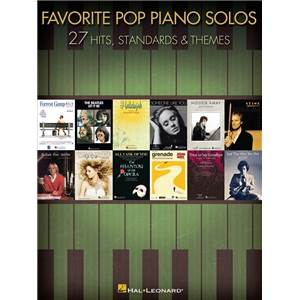 COMPILATION - FAVORITE POP PIANO SOLOS 27 HITS AND THEMES FOR INTERMEDIATE PIANISTS