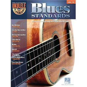 COMPILATION - UKULELE PLAY ALONG VOL.19 BLUES STANDARDS + CD