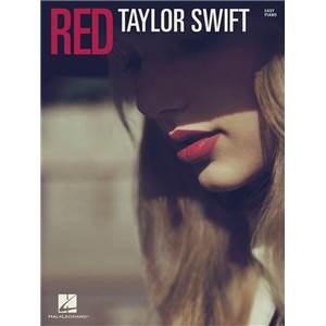 SWIFT TAYLOR - RED EASY PIANO/V/G