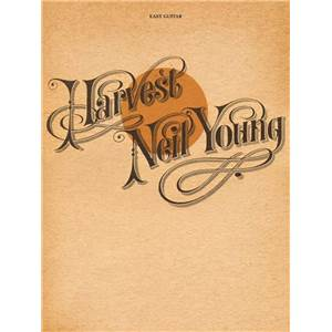 YOUNG NEIL - HARVEST EASY GUITAR TAB.