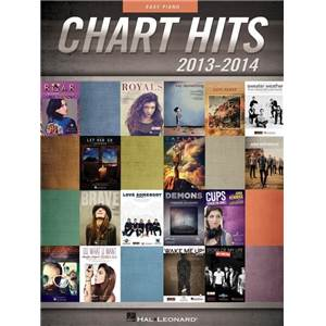 COMPILATION - CHART HITS OF 2013 2014: EASY PIANO SONGBOOK P/V/G