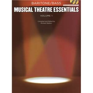COMPILATION - MUSICAL THEATRE ESSENTIALS: BARITONE BASS VOL.1 + 2 CD