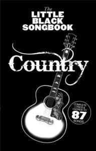 COMPILATION - LITTLE BLACK SONGBOOK COUNTRY 87 CHANSONS FORMAT POCHE