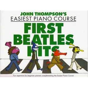 THOMPSON JOHN - FIRST BEATLES HITS EASIEST PIANO