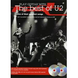 U2 - BEST OF PLAY GUITAR WITH + 2CD