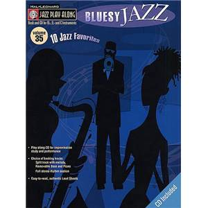 COMPILATION - JAZZ PLAY ALONG VOL.035 BLUESY JAZZ + CD
