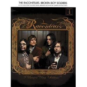 RACONTEURS THE - BROKEN BOY SOLDIERS GUITAR TAB