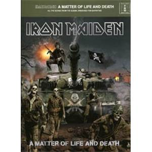 IRON MAIDEN - A MATTER OF LIFE AND DEATH GUITAR TAB.