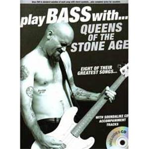 QUEENS OF THE STONE AGE - PLAY BASS WTH.. TAB. + CD
