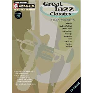 COMPILATION - JAZZ PLAY ALONG VOL.050 GREAT JAZZ CLASSIC + CD