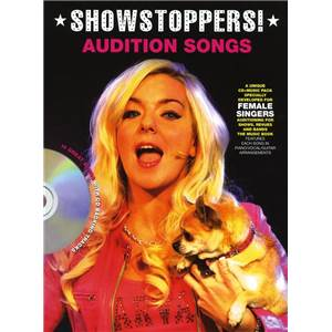 COMPILATION - AUDITION SONGS FOR FEMALE SINGERS : SHOWSTOPPERS + CD