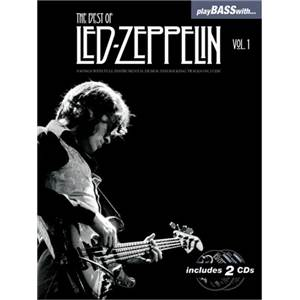 LED ZEPPELIN - BEST OF VOL.1 PLAY BASS WITH + CD