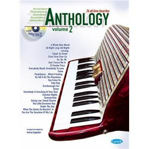 COMPILATION - ACCORDEON ANTHOLOGY 24 ALL TIME FAVORITES VOL.2 + CD