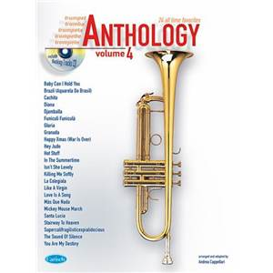 COMPILATION - ANTHOLOGY TROMPETTE VOL.4 24 ALL TIME FAVORITES + CD