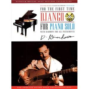 REINHARDT DJANGO - FOR PIANO SOLO WITH HARMONY FOR ALL INSTRUMENTS + CD