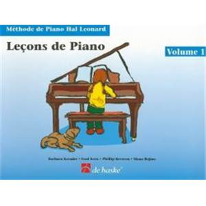 KREADER BARBARA - LECONS DE PIANO VOL.1