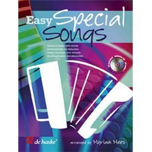 MEES MYRIAM - EASY SPECIAL SONGS POUR ACCORDEON + CD