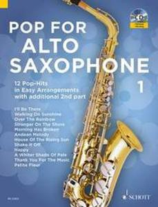 POP FOR ALTO SAXOPHONE VOLUME 1 +CD  - SAXOPHONES MIB (1-2)