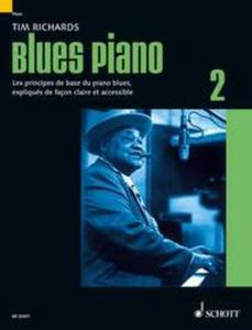 RICHARDS TIM - BLUES PIANO VOL.2 (METHODE DE BLUES EN FRANCAIS) -  PIANO