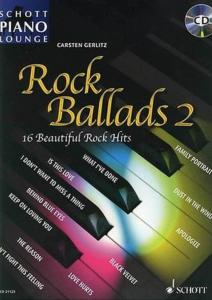 ROCK BALLADS VOL.2 (ARRANGEMENTS PAR GERLITZ CARSTEN) +CD - PIANO
