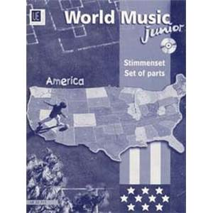 COMPILATION - WORLD MUSIC AMERICA JUNIOR (AMERIQUE) PARTIES SEPAREES + CD