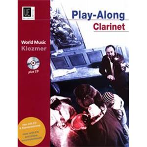 COMPILATION - WORLD MUSIC KLEZMER CLARINETTE/PIANO + CD