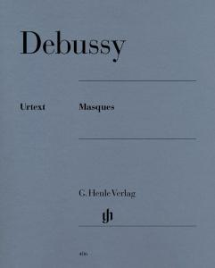 DEBUSSY CLAUDE - MASQUES - PIANO