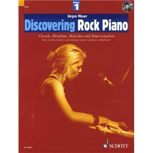 MOSER JURGEN - DISCOVERING ROCK PIANO VOL.1 + CD PIANO