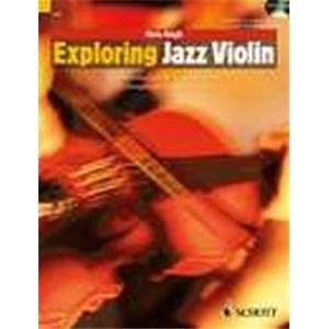 HAIGH CHRIS - EXPLORING JAZZ VIOLIN + CD VIOLON